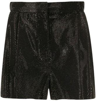 Versace High-Waist Shorts