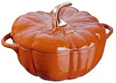 Staub Cast Iron 3.5QT Pumpkin Cocotte