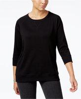 Karen Scott Active Sweatshirt, Created for Macy's