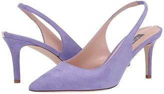 Sarah Jessica Parker Simplicity (Purple Suede) Women's Shoes