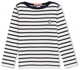 Petit Bateau Boys striped heavy jersey sweatshirt