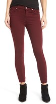 Women's 7 For All Mankind Raw Hem Ankle Skinny Jeans