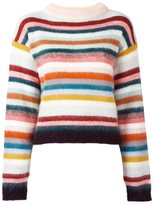Chloé striped jumper - women - Acrylic/Polyamide/Cashmere/Wool - XS