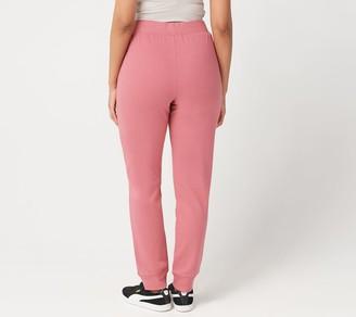 Denim & Co. Active Petite Pull-On Knit Jogger Pants