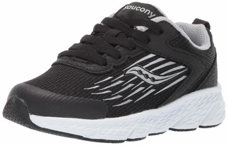 Saucony Wind Lace Sneaker Big Kid 11 Black