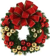 Creative Displays Evergreen Wreath Floral Arrangement