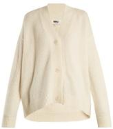 MM6 MAISON MARGIELA Oversized V-neck knit cardigan
