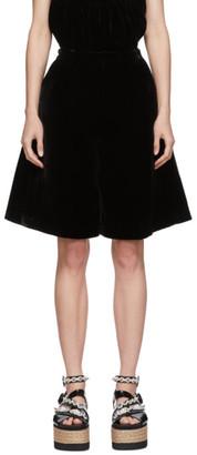 Cecilie Bahnsen Black Mille Shorts