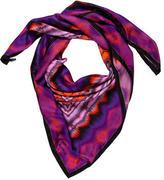 Matthew Williamson Silk Tie-Dye Scarf w/ Tags