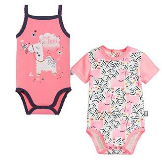 Camilla And Marc Pack of 2 Baby Girl's Bodies Selma Size 9 Months (74 cm)