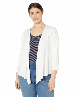 Nic+Zoe Women's Plus Size Ease 4 Way Cardy