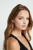 BCBGeneration Drop Circle Earrings - Silver