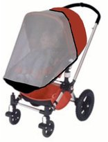 Mia Moda Sashas Kiddie Products Sasha Kiddie Mia 3 MiaModa Atmosferra Single Stroller Sun, Wind and Insect Cover - Stroller Not Included