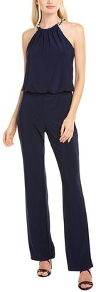 Laundry By Shelli Segal Chain Necklace Jumpsuit