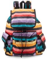 Le Sport Sac Voyager Printed Backpack