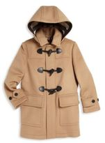 Burberry Little Boy's & Boy's Burwood Duffle Coat