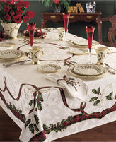"Lenox Holiday Nouveau 60"" x 104"" Tablecloth"