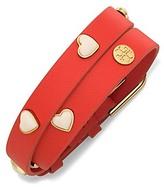 Tory Burch Double-Wrap Amore Bracelet