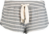 Eberjey Striped jersey pajama shorts