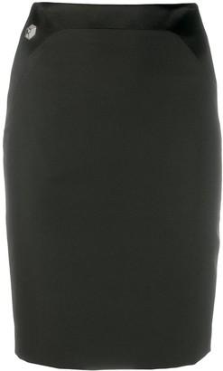 Philipp Plein Short Skirt Crystal