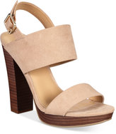 Report Lawrena Two-Piece Platform Sandals