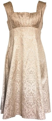 Basix II Gold Glitter Dress for Women