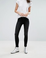 Cheap Monday Mid Spray Laddered Skinny Jeans