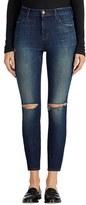 J Brand Women's Alana Ripped High Rise Crop Skinny Jeans