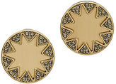 House Of Harlow The Earth Metal Sunburst Stud Earrings