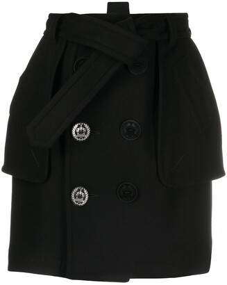 DSQUARED2 Double-Breasted Mini Skirt