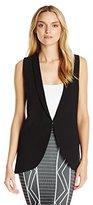 BCBGeneration Women's Long Blazer Vest
