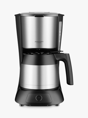 John Lewis & Partners Filter Coffee Machine, Stainless Steel