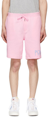Polo Ralph Lauren Pink Fleece Logo Shorts