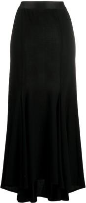 Ann Demeulemeester High-Low Maxi Skirt