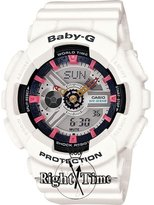 Casio BA110SN-7ACR Resin Case Resin Mineral Women's Watch