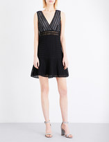 Sandro Paola embroidered dress