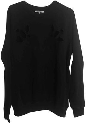 Carven Black Cotton Knitwear & Sweatshirts