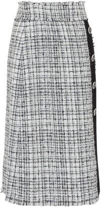 Dolce & Gabbana Buttoned Tweed Skirt