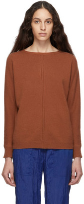 Max Mara Brown Cashmere Masque Sweater