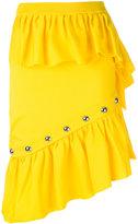 Marques Almeida Marques'almeida - studded ruffle skirt - women - Polypropylene - S