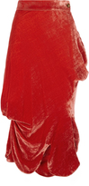 Vivienne Westwood Animal Skirt Orange Size 40