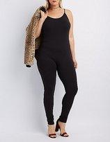 Charlotte Russe Plus Size Bodycon Jumpsuit