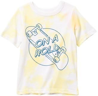 Joe Fresh On a Roll Graphic Tie Dye T-Shirt (Toddler & Little Boys)