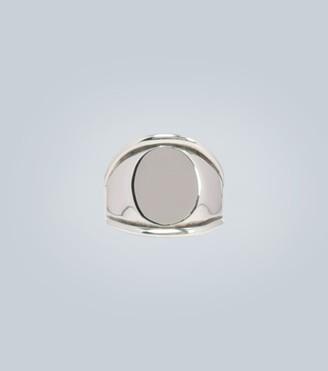 Bottega Veneta Sterling silver signet ring