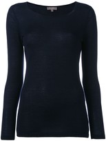 N.Peal cashmere superfine round neck jumper