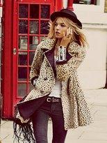 Leopard Swing Coat