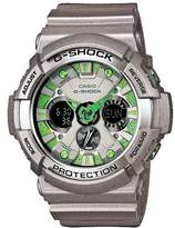 Casio Men's G-Shock GA200SH-8A Plastic Quartz Watch