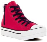 Converse Chuck Taylor Platform Zip High Top Sneaker (Little Kid & Big Kid)