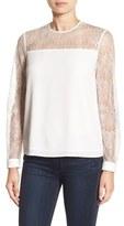 Cooper & Ella Women's 'Pasha' Lace Sleeve Top