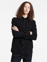 Calvin Klein Jeans Slim Fit Indigo Dobby Shirt